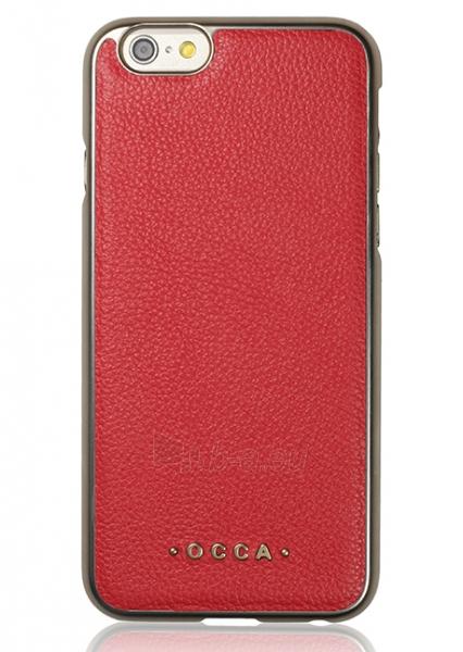 Telefono dėklas OCCA Back cover Absolute for iPhone 6 Plus (Red) Paveikslėlis 1 iš 2 310820016110