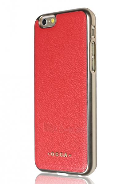 Telefono dėklas OCCA Back cover Absolute for iPhone 6 Plus (Red) Paveikslėlis 2 iš 2 310820016110