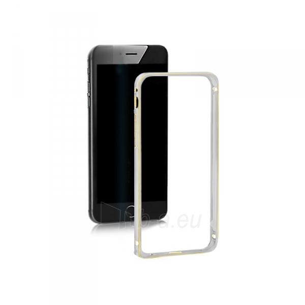 Telefono dėklas Qoltec Aluminum case for Samsung Note 5   silver Paveikslėlis 1 iš 5 310820011353