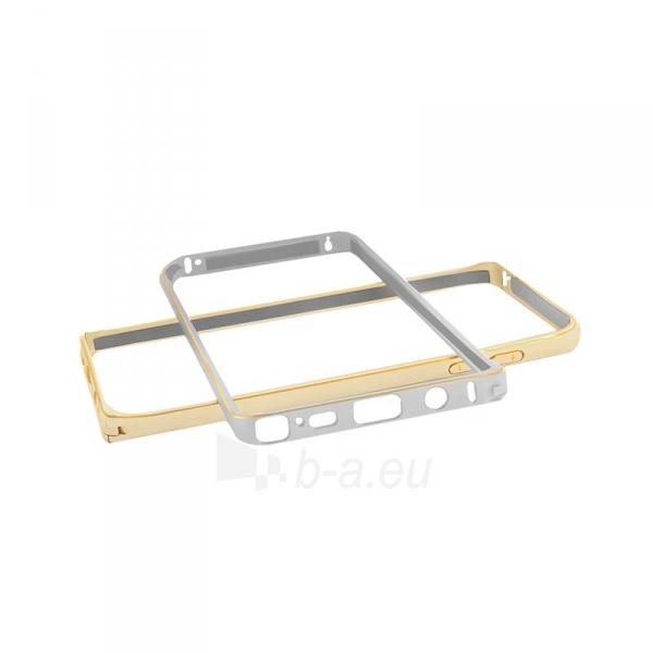 Telefono dėklas Qoltec Aluminum case for Samsung Note 5   silver Paveikslėlis 2 iš 5 310820011353