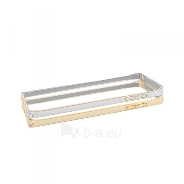 Telefono dėklas Qoltec Aluminum case for Samsung Note 5   silver Paveikslėlis 4 iš 5 310820011353