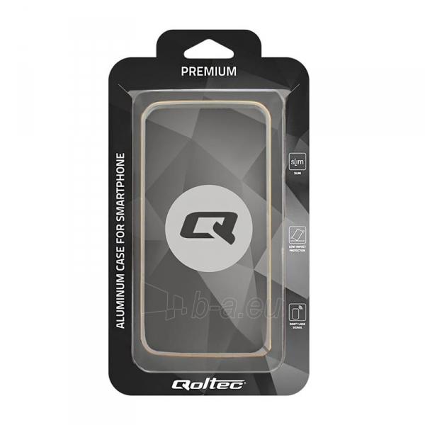 Telefono dėklas Qoltec Aluminum case for Samsung Note 5   silver Paveikslėlis 5 iš 5 310820011353