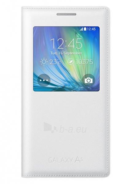 Telefono dėklas Samsung A500 Galaxy A5 S-VIEW Cover balts - white Paveikslėlis 1 iš 1 310820012918