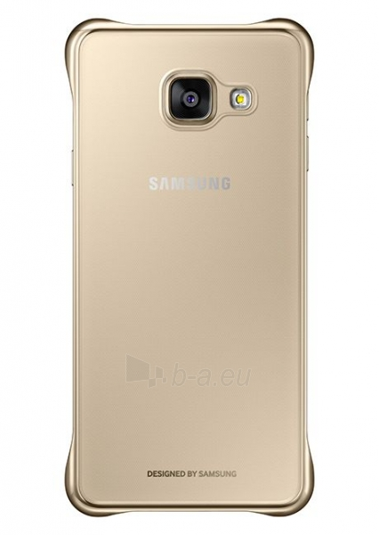 Telefono dėklas Samsung Clear cover for Galaxy A3 (2016) A310 EF-QA310CFEGWW Gold Paveikslėlis 1 iš 1 310820013074
