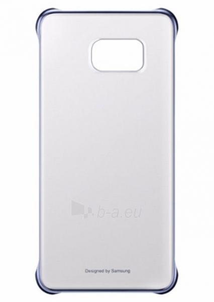 Telefono dėklas Samsung Clear cover for Galaxy S6 Edge+ G928 EF-QG928CBEGWW Black Paveikslėlis 1 iš 1 310820012980