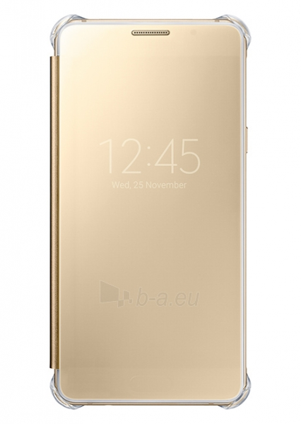 Samsung Clear View Cover for Galaxy A5 (2016) A510 (Gold) Paveikslėlis 1 iš 3 250232003054