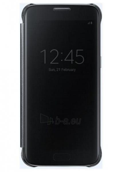 Telefono dėklas Samsung Clear View Cover Galaxy S7 Edge EF-ZG935CBE black Paveikslėlis 1 iš 1 310820039623