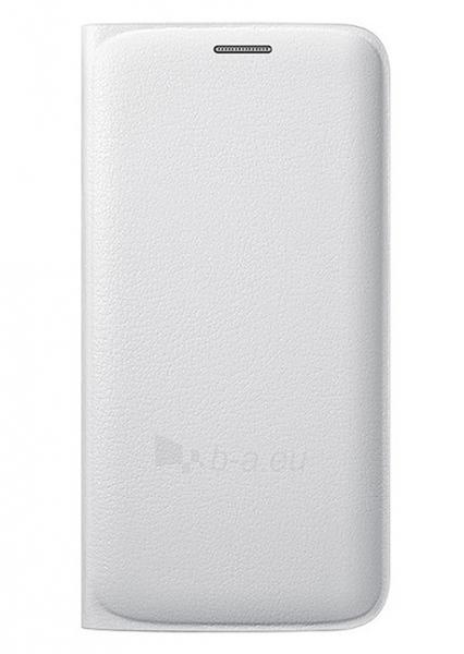 Telefono dėklas Samsung Flip cover for Galaxy J1 (2016) J120 (White) Paveikslėlis 1 iš 1 310820016190