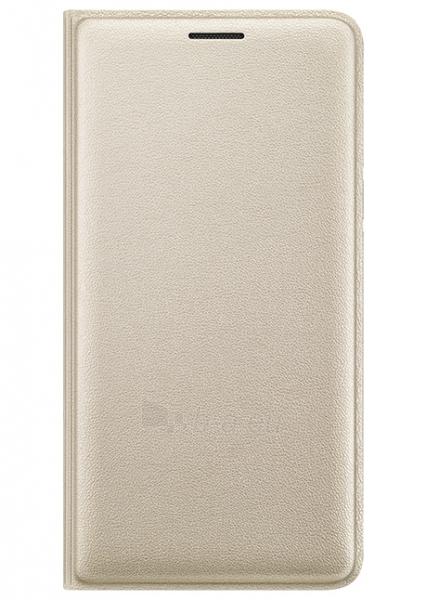 Telefono dėklas Samsung Flip cover for Galaxy J3 J320 (Gold) Paveikslėlis 1 iš 3 310820016215