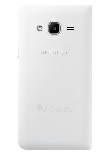 Telefono dėklas Samsung Flip cover for Galaxy J3 J320 (White) Paveikslėlis 1 iš 3 310820016123