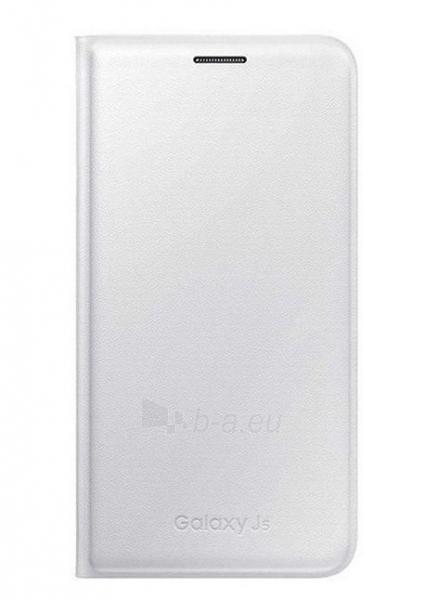 Telefono dėklas Samsung Flip cover for Galaxy J5 J500 EF-WJ500BWEGWW White Paveikslėlis 1 iš 1 310820012937