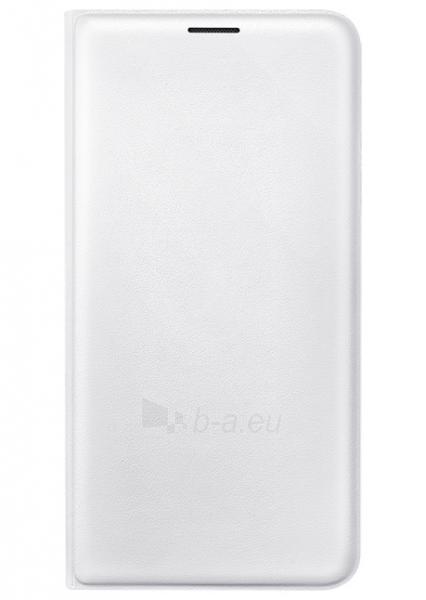 Telefono dėklas Samsung Flip cover for Galaxy J7 (2016) J710 (White) Paveikslėlis 1 iš 4 310820016187