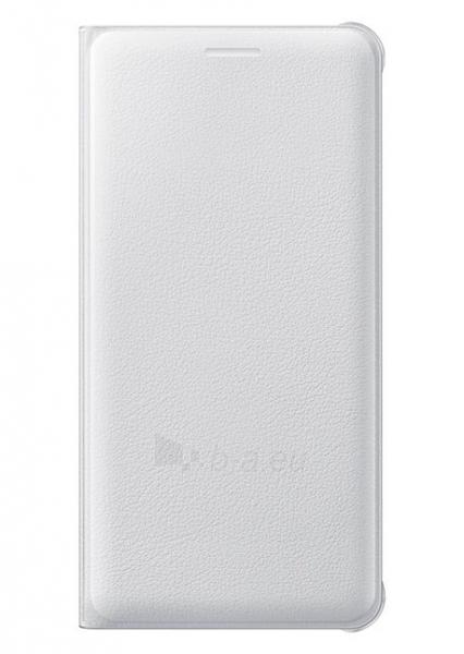 Telefono dėklas Samsung Flip Wallet EF-WA310PWEGWW (PU) for Galaxy A3 (2016) A310 White Paveikslėlis 1 iš 1 310820041699
