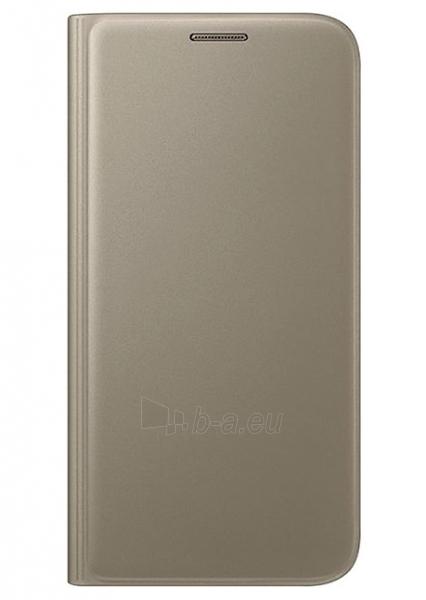Telefono dėklas Samsung Flip Wallet for Galaxy S7 G930 (Gold) Paveikslėlis 1 iš 3 310820016140