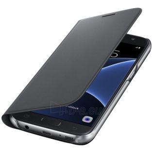 Telefono dėklas Samsung Flip Wallet Samsung Galaxy S7 Edge EF-WG935PBE Black Paveikslėlis 1 iš 1 310820036357
