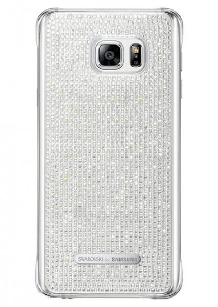 Telefono dėklas Samsung Galaxy S6 Edge+ Swarovski Protective Cover (White) Paveikslėlis 1 iš 1 310820016170
