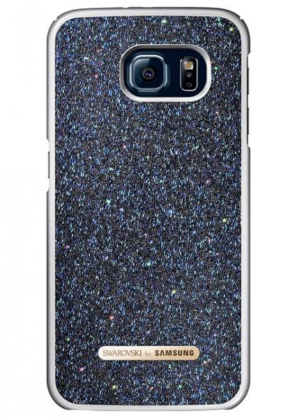 Telefono dėklas Samsung Galaxy S6 Swarovski Protective Cover (Black) Paveikslėlis 1 iš 1 310820016160