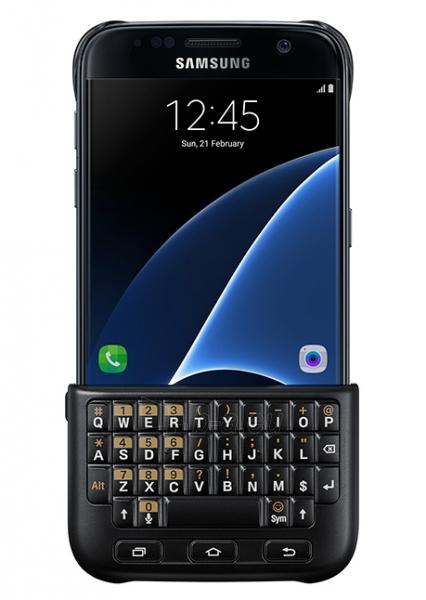 Telefono dėklas Samsung Keyboard Cover for Galaxy S7 G930 (Black) Paveikslėlis 1 iš 3 310820016194