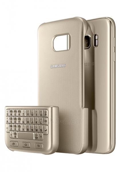 Telefono dėklas Samsung Keyboard Cover Galaxy S7 G930 (Gold) Paveikslėlis 1 iš 3 310820016193