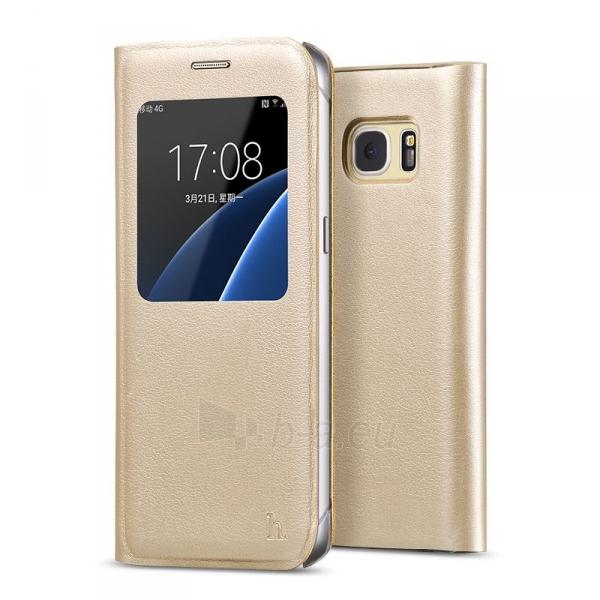 Telefono dėklas Samsung Original series for S7 Edge G935 Gold Paveikslėlis 1 iš 1 310820041993