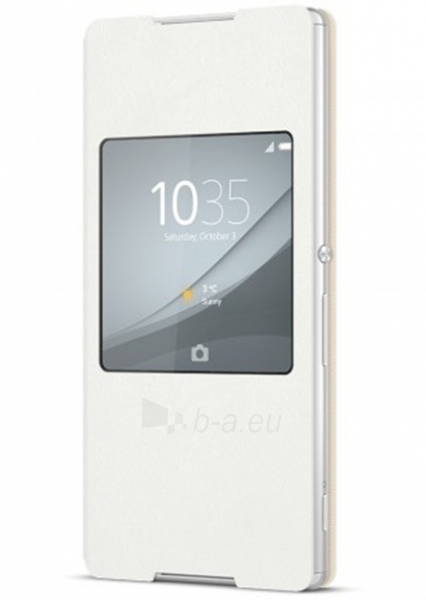 Sony Mobile Flip cover for XPERIA Z3+ SCR 30 (White) Paveikslėlis 1 iš 1 250232002826