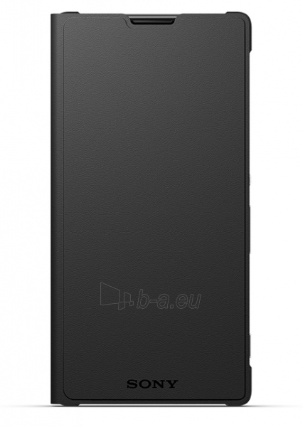 Sony Mobile SCR 48 flip cover for XPERIA M5 (Black) Paveikslėlis 1 iš 3 250232003091