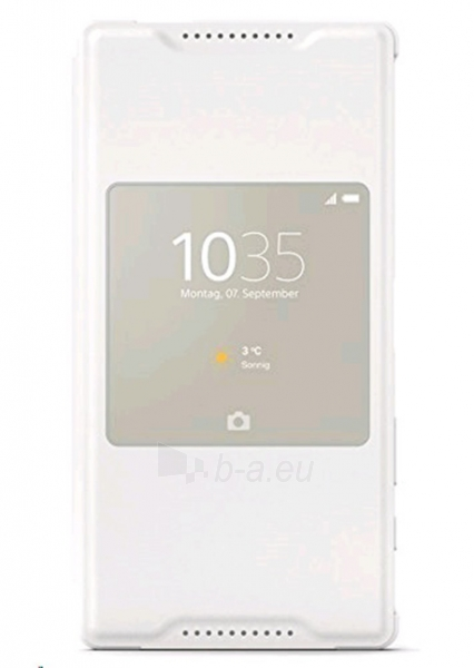 Sony Mobile Style-UP Cover for XPERIA Z5 Compact E5823 SCR 44 (White) Paveikslėlis 1 iš 1 250232003094