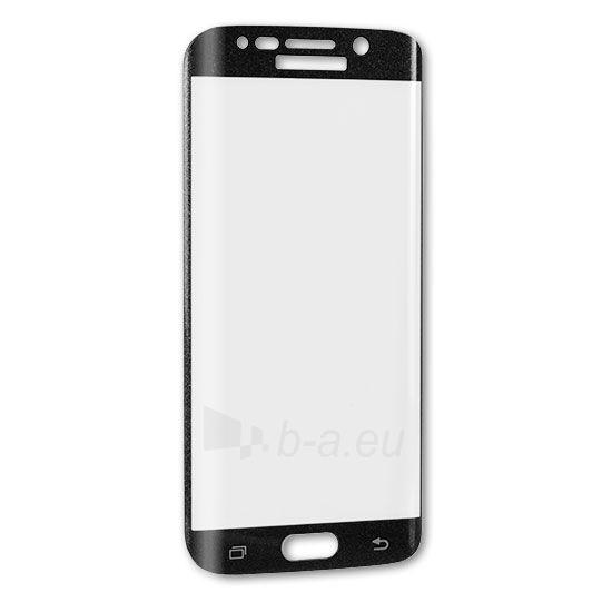 Telefono dėklas Telone Samsung Galaxy S6 Edge black Paveikslėlis 1 iš 1 310820036356