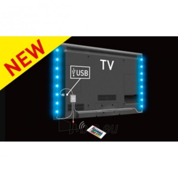 Televizoriaus apšvietimas BARKAN L15 TV, RGB spalvų šviesa Paveikslėlis 1 iš 2 310820044299