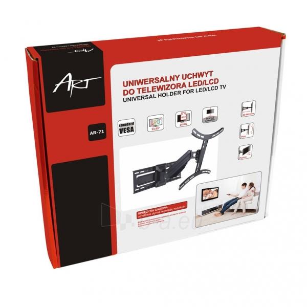 Televizoriaus laikiklis AR-71 LCD/LED 23-55 25kg reg. vertical/horizontal gas Paveikslėlis 7 iš 7 310820037570