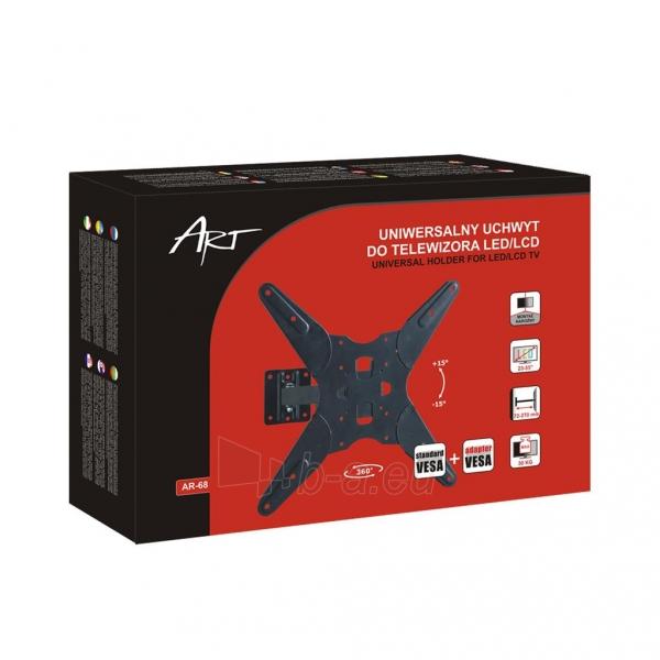 Televizoriaus laikiklis ART AR-68 for LCD/LED / Plasma 23-55 30kg vertical/h Paveikslėlis 8 iš 9 310820037568