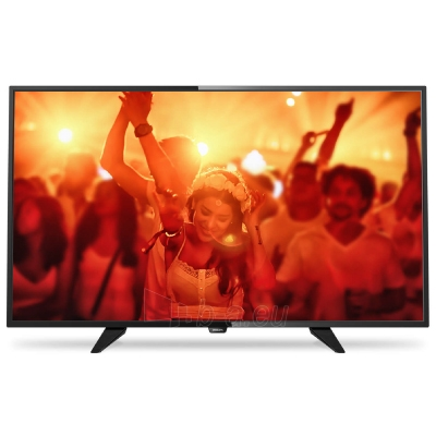 Televizorius Philips LED Ultra Slim TV 40 40PFT4101/12 FHD 1920x1080p 200cd PPI-200Hz 2xHDMI USB(AVI/MKV) DVB-T/T2/C (MPEG-4) 16W, C:Black, A Paveikslėlis 1 iš 1 310820063944