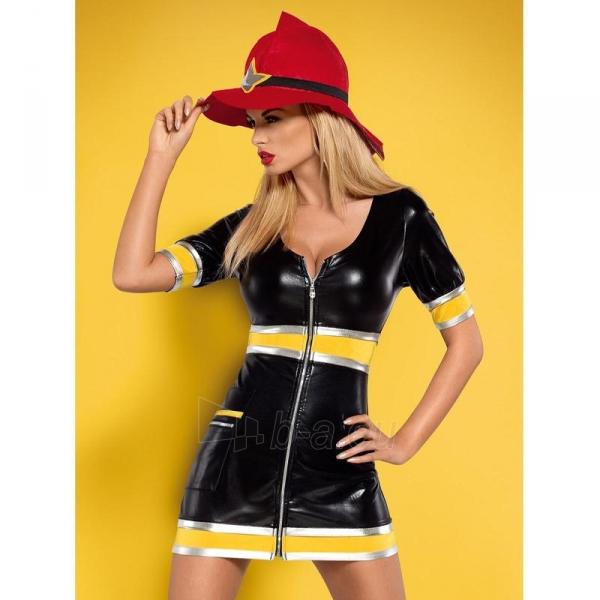 Teminis kostiumas Gaisrininkė S/M Paveikslėlis 1 iš 4 310820006654
