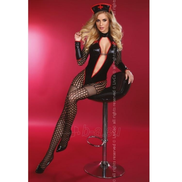 Teminis kostiumas Seksualioji slaugytoja L/XL Paveikslėlis 1 iš 6 310820006716