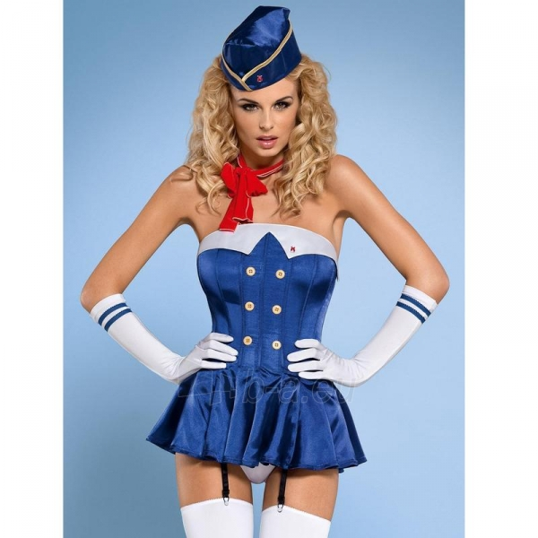 Teminis kostiumas Stiuardesė L/XL Paveikslėlis 1 iš 5 310820006673