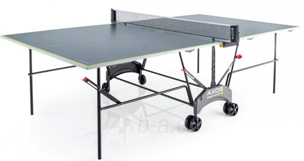 Teniso stalas indoor 19mm KETTLER AXOS INDOOR 1 grey Paveikslėlis 1 iš 1 310820040294