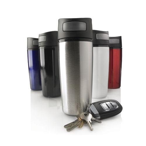 Termo puodelis Auto Pilkas Paveikslėlis 4 iš 4 250123991048