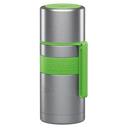 Termosas Boddels HEET Vacuum flask with cup Apple green, Capacity 0.35 L, Diameter 7.2 cm, Bisphenol A (BPA) free Paveikslėlis 1 iš 3 310820219663