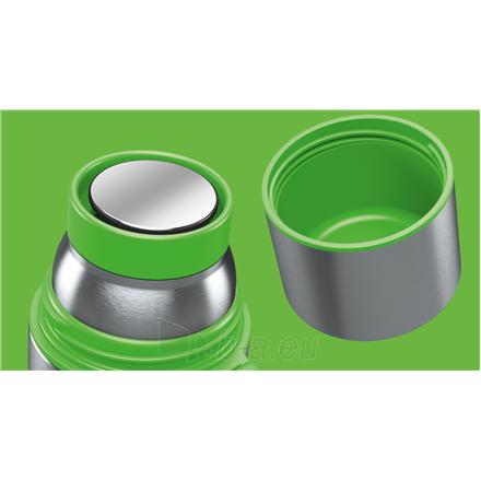 Termosas Boddels HEET Vacuum flask with cup Apple green, Capacity 0.35 L, Diameter 7.2 cm, Bisphenol A (BPA) free Paveikslėlis 2 iš 3 310820219663