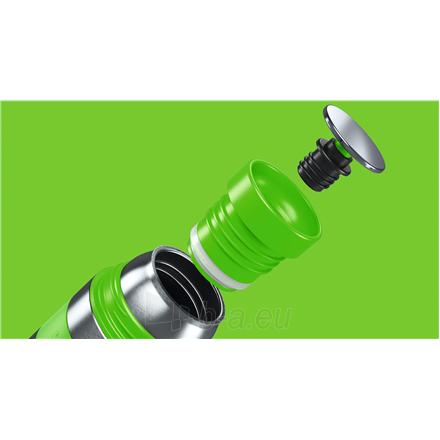 Termosas Boddels HEET Vacuum flask with cup Apple green, Capacity 0.35 L, Diameter 7.2 cm, Bisphenol A (BPA) free Paveikslėlis 3 iš 3 310820219663