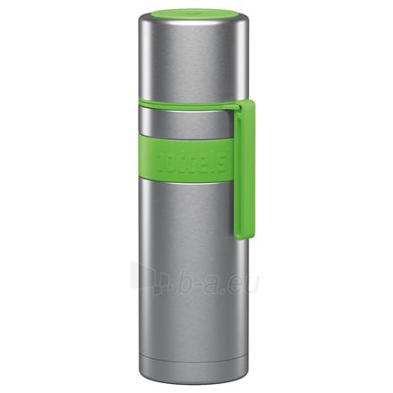 Termosas Boddels HEET Vacuum flask with cup Apple green, Capacity 0.5 L, Diameter 7.2 cm, Bisphenol A (BPA) free Paveikslėlis 1 iš 3 310820219668
