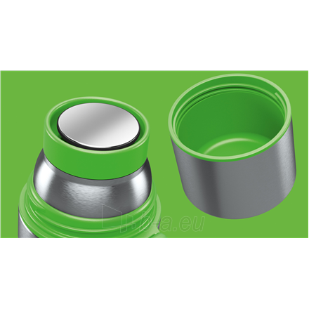 Termosas Boddels HEET Vacuum flask with cup Apple green, Capacity 0.5 L, Diameter 7.2 cm, Bisphenol A (BPA) free Paveikslėlis 2 iš 3 310820219668