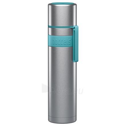Termosas Boddels HEET Vacuum flask with cup Isothermal, Apple green, Capacity 0.7 L, Diameter 7.2 cm, Bisphenol A (BPA) free Paveikslėlis 1 iš 3 310820219673