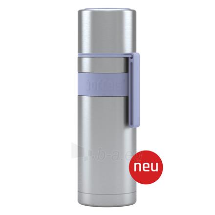 Termosas Boddels HEET Vacuum flask with cup Isothermal, Lavender blue, Capacity 0.5 L, Diameter 7.2 cm, Bisphenol A (BPA) free Paveikslėlis 1 iš 3 310820219670