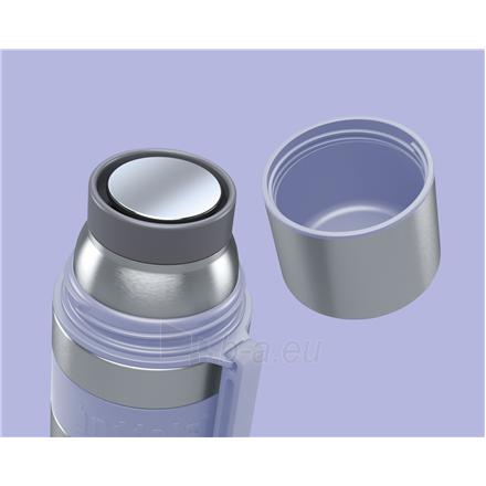 Termosas Boddels HEET Vacuum flask with cup Isothermal, Lavender blue, Capacity 0.5 L, Diameter 7.2 cm, Bisphenol A (BPA) free Paveikslėlis 2 iš 3 310820219670