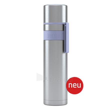 Termosas Boddels HEET Vacuum flask with cup Isothermal, Lavender blue, Capacity 0.7 L, Diameter 7.2 cm, Bisphenol A (BPA) free Paveikslėlis 1 iš 3 310820219675