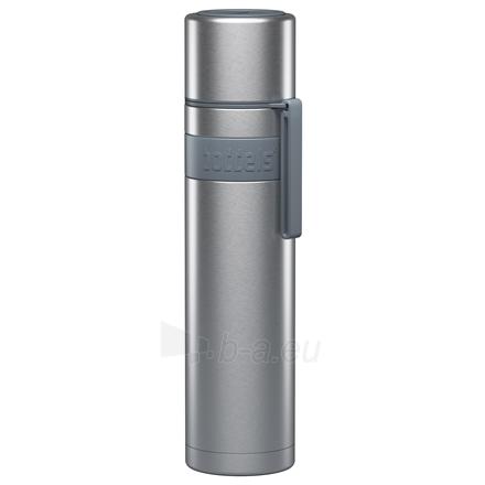 Termosas Boddels HEET Vacuum flask with cup Isothermal, Light grey, Capacity 0.7 L, Diameter 7.2 cm, Bisphenol A (BPA) free Paveikslėlis 1 iš 3 310820219672