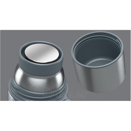Termosas Boddels HEET Vacuum flask with cup Isothermal, Light grey, Capacity 0.7 L, Diameter 7.2 cm, Bisphenol A (BPA) free Paveikslėlis 2 iš 3 310820219672