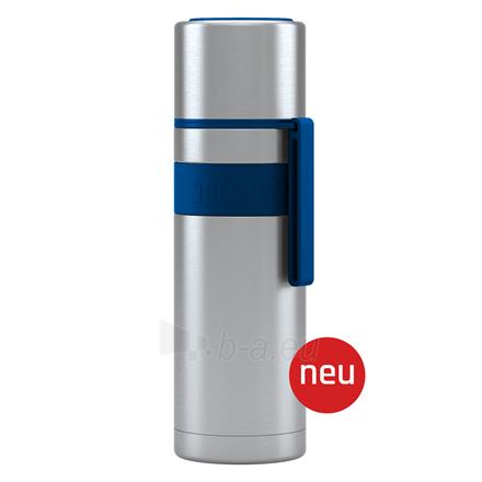 Termosas Boddels HEET Vacuum flask with cup Isothermal, Night blue, Capacity 0.5 L, Diameter 7.2 cm, Bisphenol A (BPA) free Paveikslėlis 1 iš 3 310820219669
