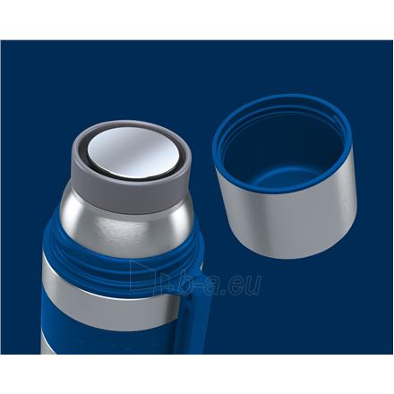 Termosas Boddels HEET Vacuum flask with cup Isothermal, Night blue, Capacity 0.5 L, Diameter 7.2 cm, Bisphenol A (BPA) free Paveikslėlis 2 iš 3 310820219669